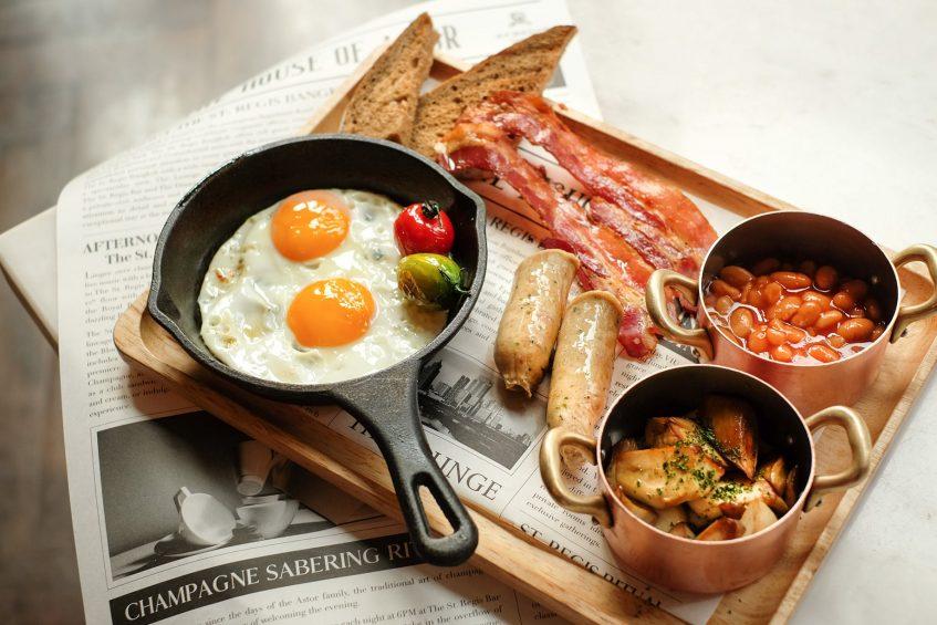 The St. Regis Bangkok Luxury Hotel - Bangkok, Thailand - Signature Breakfast Dishes