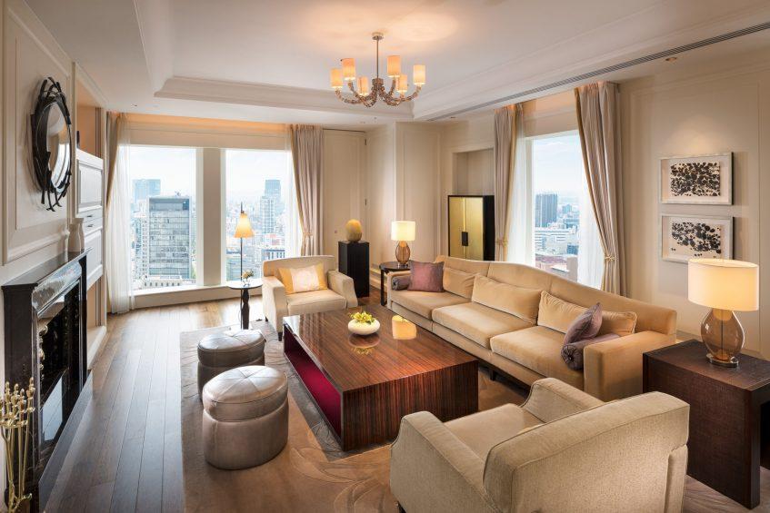 The St. Regis Osaka Luxury Hotel - Osaka, Japan - Royal Suite Living Area