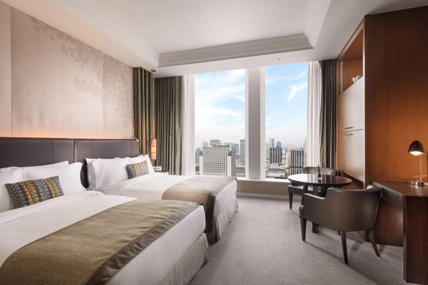 The St. Regis Osaka Luxury Hotel - Osaka, Japan - Twin Skyline Deluxe Guest Room