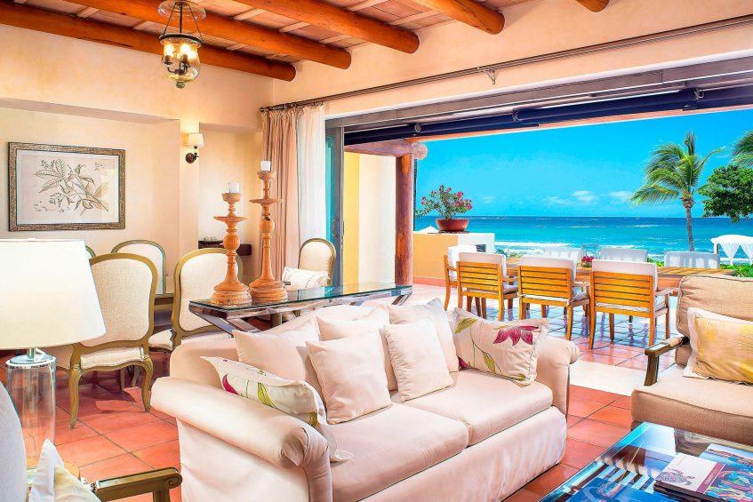 The St. Regis Punta Mita Luxury Resort - Nayarit, Mexico - 3 Bedroom Villa Ocean View Living Room
