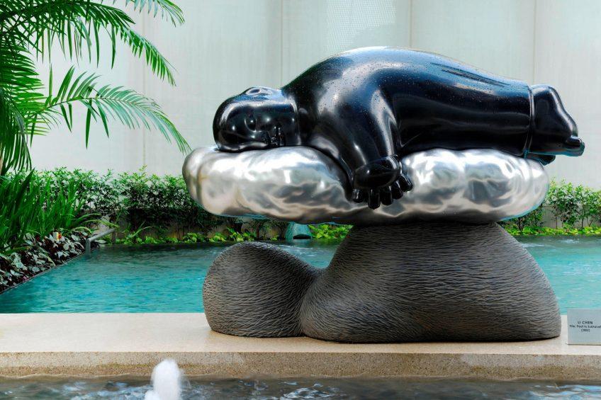 The St. Regis Singapore Luxury Hotel - Singapore - Float to Sukhavati by Li Chen