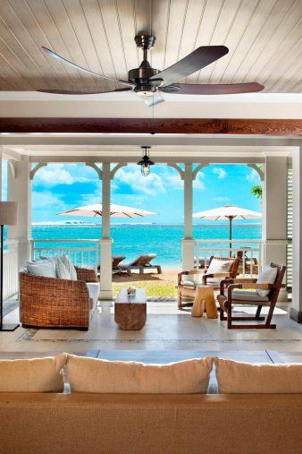 The St. Regis Mauritius Luxury Resort - Mauritius - Beachfront Access St. Regis Suite Terrace