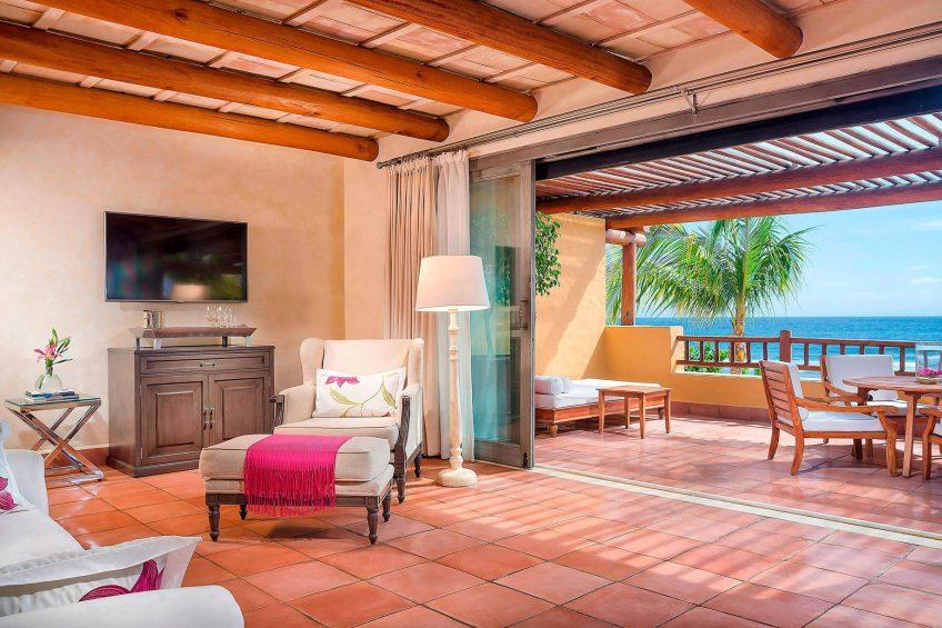 The St. Regis Punta Mita Luxury Resort - Nayarit, Mexico - Ocean View Deluxe Suite Living Room