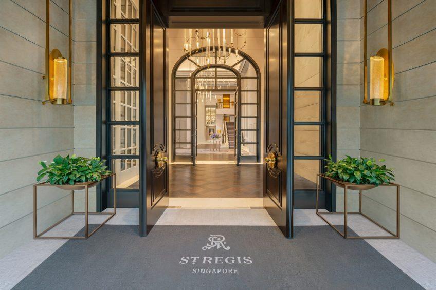 The St. Regis Singapore Luxury Hotel - Singapore - Caroline's Mansion Grand Entrance