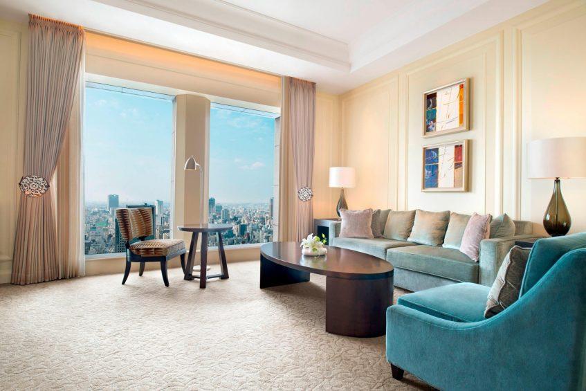 The St. Regis Osaka Luxury Hotel - Osaka, Japan - Yuri Suite Living Area