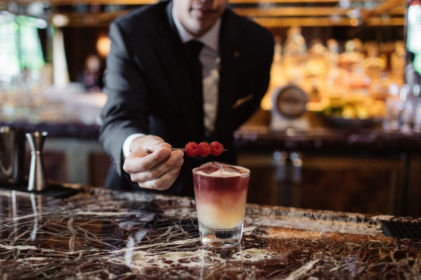 The St. Regis Washington D.C. Luxury Hotel - Washington, DC, USA - St. Regis Whiskey Sour Cocktail