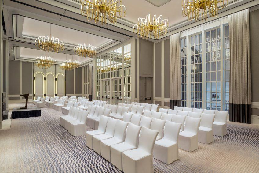 The St. Regis Singapore Luxury Hotel - Singapore - Caroline's Mansion Room Theatre Seating