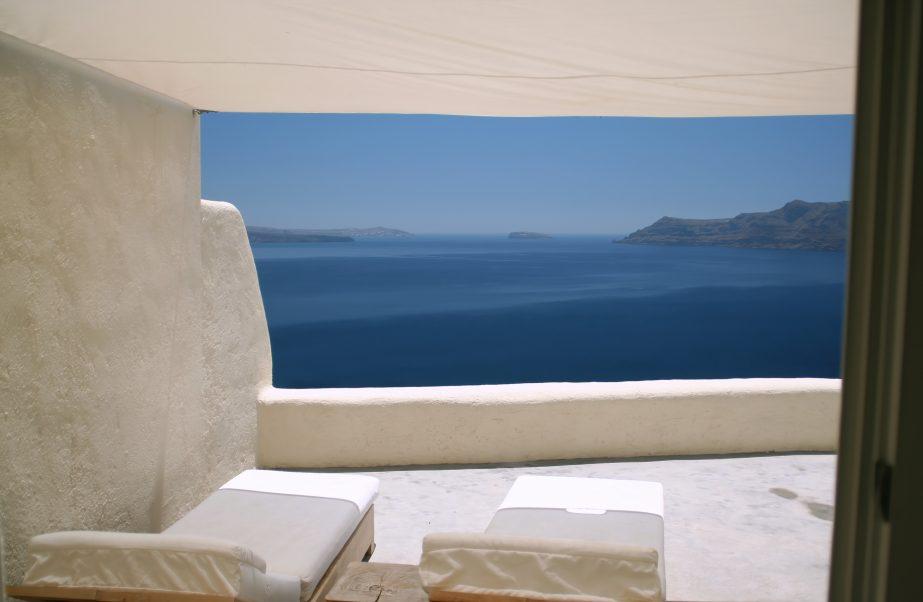 Mystique Luxury Hotel Santorini – Oia, Santorini Island, Greece - Ocean View Patio