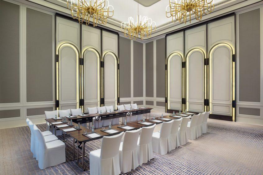 The St. Regis Singapore Luxury Hotel - Singapore - Caroline's Mansion Room U-shape Setup