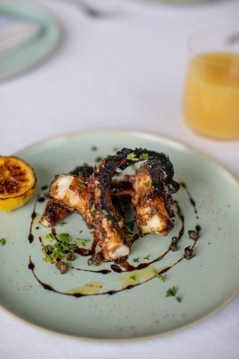 The St. Regis Bahia Beach Luxury Resort - Rio Grande, Puerto Rico - Paros Restaurant Octopus