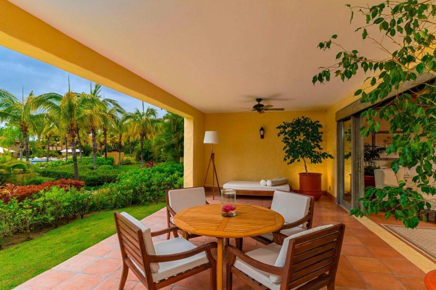 The St. Regis Punta Mita Luxury Resort - Nayarit, Mexico - Garden View Deluxe Suite Terrace