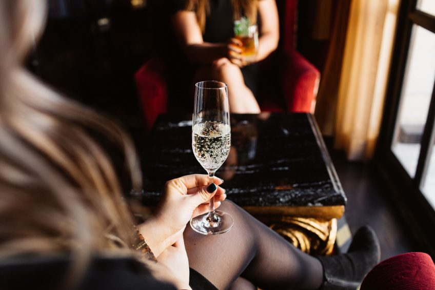 The St. Regis Washington D.C. Luxury Hotel - Washington, DC, USA - St. Regis Bar Champagne