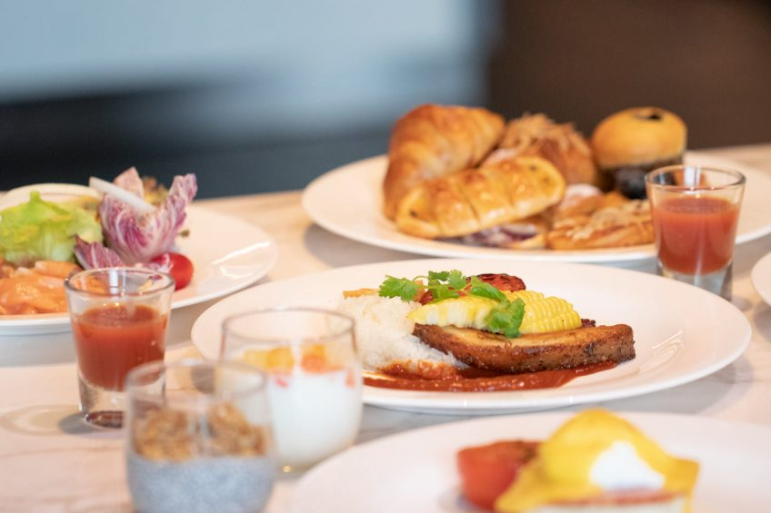 The St. Regis Bangkok Luxury Hotel - Bangkok, Thailand - Signature Breakfast
