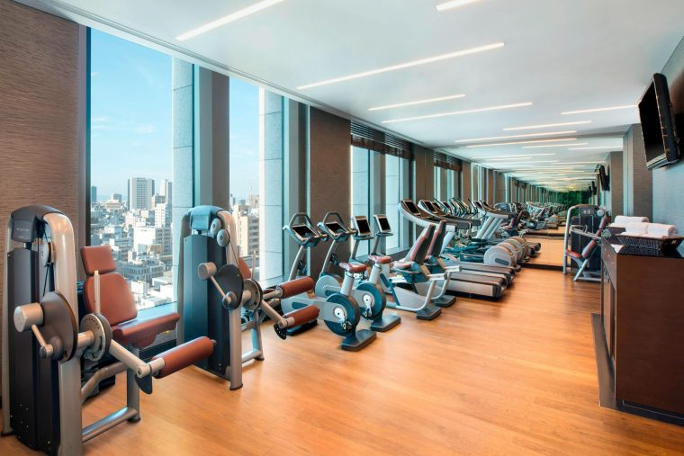 The St. Regis Osaka Luxury Hotel - Osaka, Japan - Fitness Center