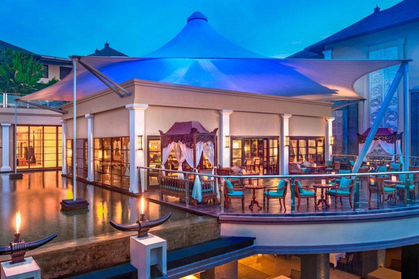 The St. Regis Bali Luxury Resort - Bali, Indonesia - King Cole Bar Terrace