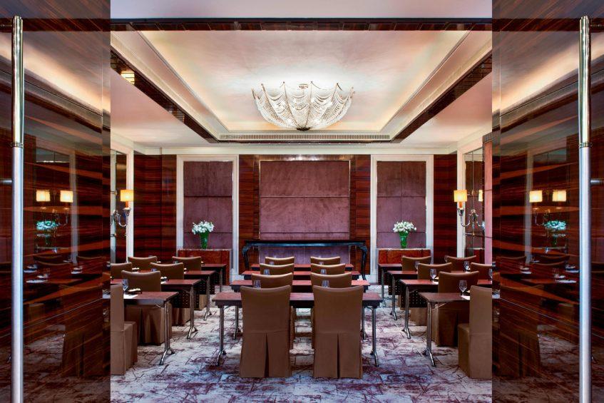 The St. Regis Singapore Luxury Hotel - Singapore - Classroom Meeting Room