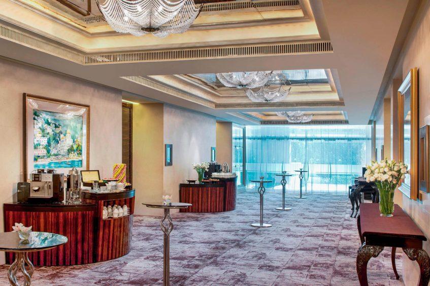 The St. Regis Singapore Luxury Hotel - Singapore - Events Space Coffee Break Setup