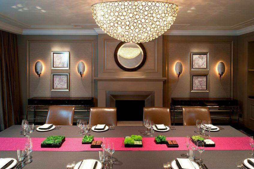 The St. Regis Osaka Luxury Hotel - Osaka, Japan - King Cole Suite Meeting Room Boardroom