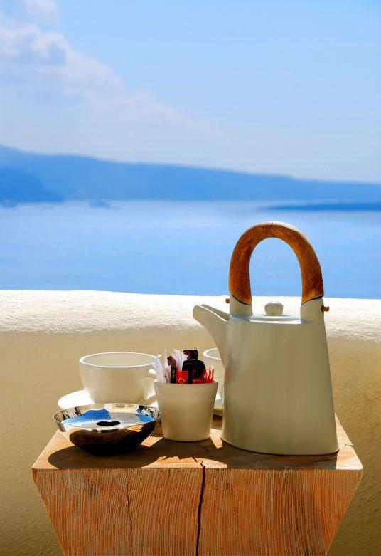 Mystique Luxury Hotel Santorini – Oia, Santorini Island, Greece - Gourmet Coffee Service