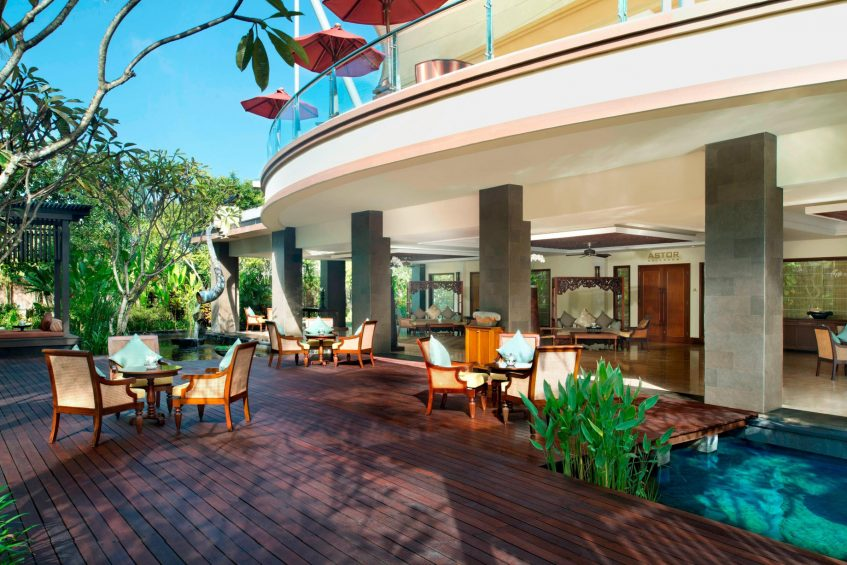 The St. Regis Bali Luxury Resort - Bali, Indonesia - The Astor Ballroom Foyer