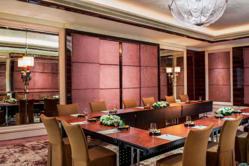 The St. Regis Singapore Luxury Hotel - Singapore - Events Room U-Shape Setup
