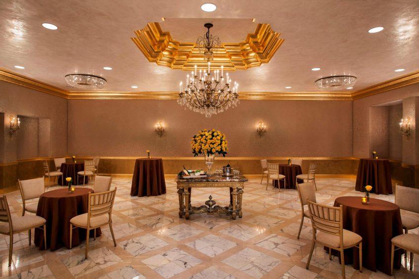 The St. Regis Washington D.C. Luxury Hotel - Washington, DC, USA - George Washington Room Reception Setup