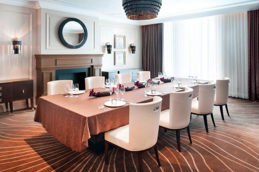 The St. Regis Osaka Luxury Hotel - Osaka, Japan - Vicount Suite Meeting Room Boardroom