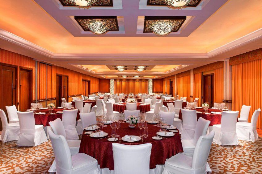 The St. Regis Bali Luxury Resort - Bali, Indonesia - Astor Ballroom Dinner