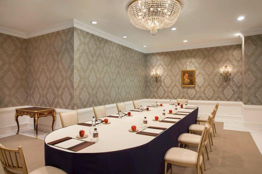 The St. Regis Washington D.C. Luxury Hotel - Washington, DC, USA - Benjamin Franklin Room Conference Setup