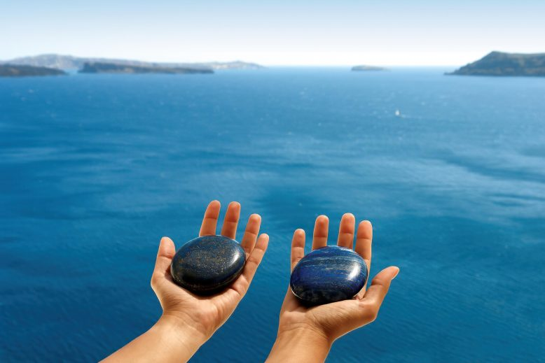 Mystique Luxury Hotel Santorini – Oia, Santorini Island, Greece - Ocean View Massage Healing Stones