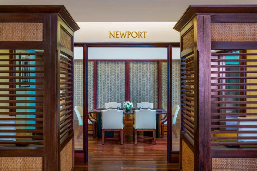 The St. Regis Bali Luxury Resort - Bali, Indonesia - Newport Meeting Room