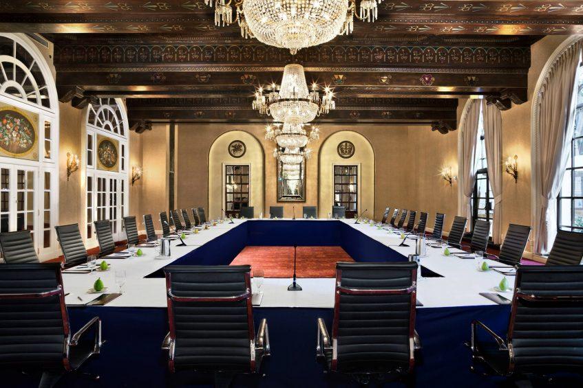 The St. Regis Washington D.C. Luxury Hotel - Washington, DC, USA - Astor Ballroom Hollow Square Setup