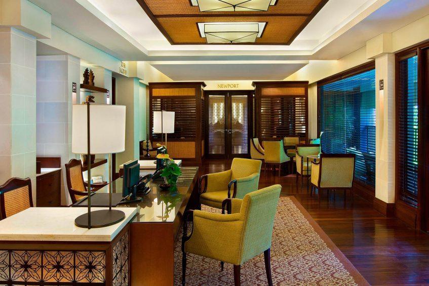 The St. Regis Bali Luxury Resort - Bali, Indonesia - The Office and Newport