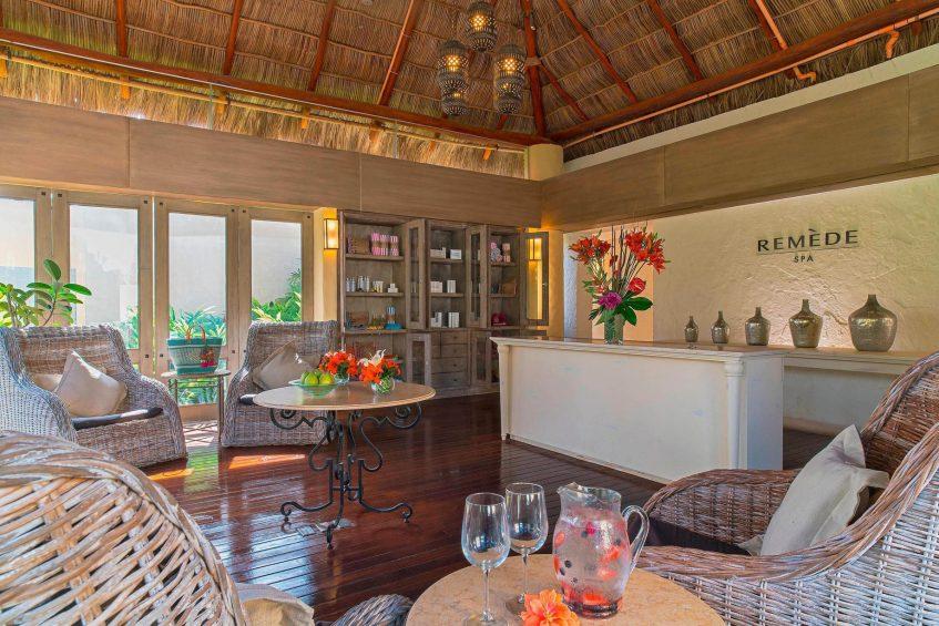 The St. Regis Punta Mita Luxury Resort - Nayarit, Mexico - Remède Spa Lobby