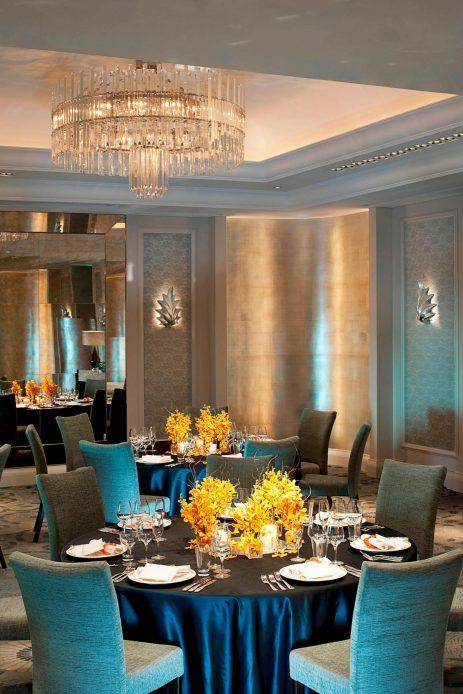 The St. Regis Osaka Luxury Hotel - Osaka, Japan - The Astor Ballroom Banquet Setup