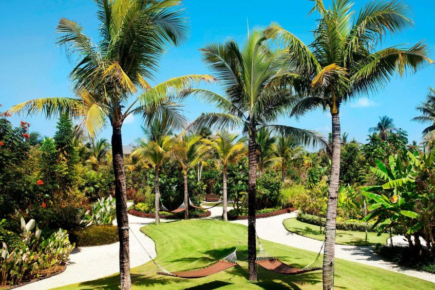 The St. Regis Bali Luxury Resort - Bali, Indonesia - Tropical Park