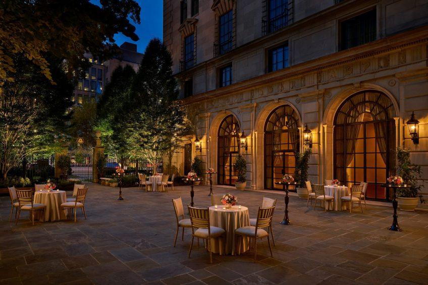 The St. Regis Washington D.C. Luxury Hotel - Washington, DC, USA - Astor Terrace Cocktail Reception
