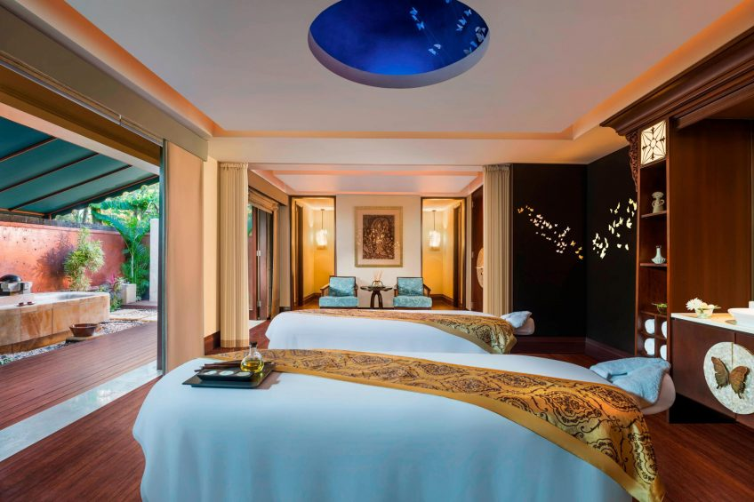 The St. Regis Bali Luxury Resort - Bali, Indonesia - St. Regis Bali Spa Couple Treatment Room