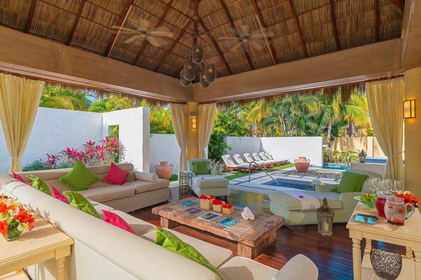 The St. Regis Punta Mita Luxury Resort - Nayarit, Mexico - Remède Spa Relaxation Area