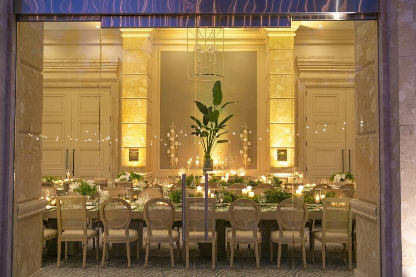 The St. Regis Bahia Beach Luxury Resort - Rio Grande, Puerto Rico - Astor Ballroom Foyer