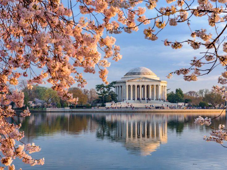 The St. Regis Washington D.C. Luxury Hotel - Washington, DC, USA - Thomas Jefferson Memorial