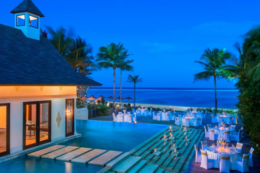 The St. Regis Bali Luxury Resort - Bali, Indonesia - Dinner Reception at the Cloud Nine Terrace