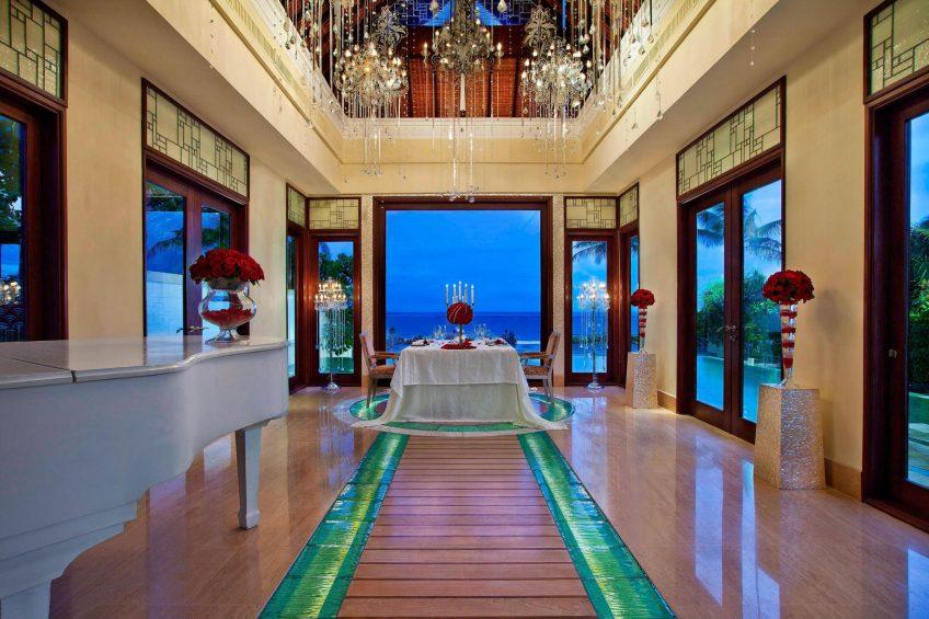 The St. Regis Bali Luxury Resort - Bali, Indonesia - Romantic Ocean View Sunset Dinner