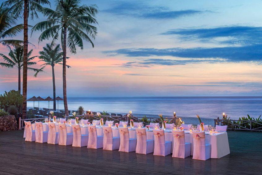 The St. Regis Bali Luxury Resort - Bali, Indonesia - Intimate Dinner at the Cloud Nine Terrace