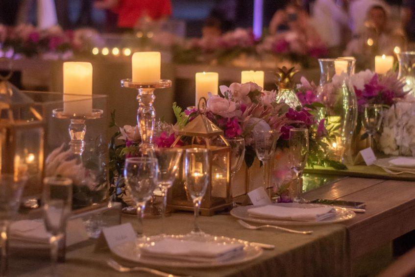 The St. Regis Bahia Beach Luxury Resort - Rio Grande, Puerto Rico - Seabreeze Lawn Wedding Setup