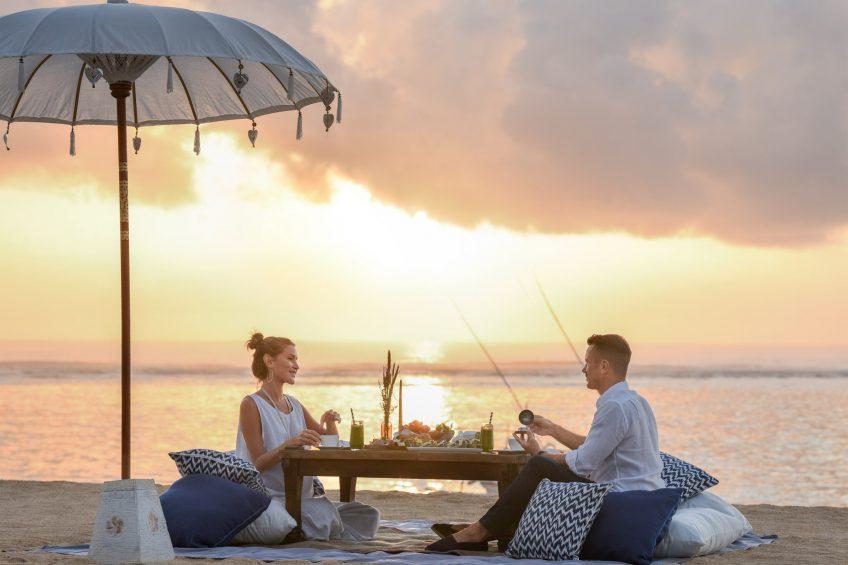 The St. Regis Bali Luxury Resort - Bali, Indonesia - Sunrise Picnic