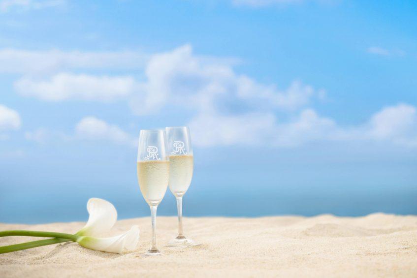 The St. Regis Bali Luxury Resort - Bali, Indonesia - Champagne on the Beach