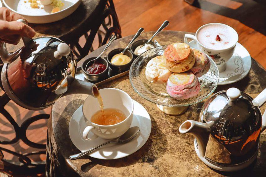 The St. Regis Bangkok Luxury Hotel - Bangkok, Thailand - Tea Service