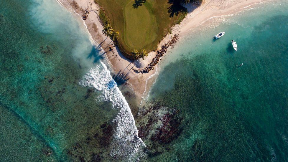 The St. Regis Punta Mita Luxury Resort - Nayarit, Mexico - Resort Golf Course Overhead Aerial View