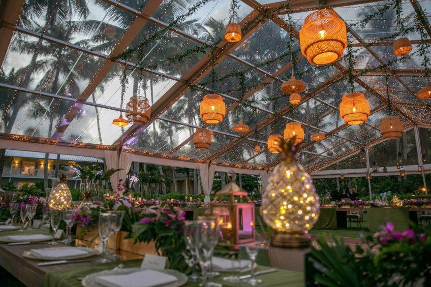 The St. Regis Bahia Beach Luxury Resort - Rio Grande, Puerto Rico - Seabreeze Event Lawn Setup